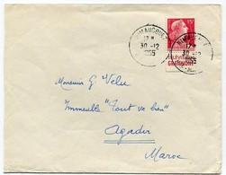 !!! 15F MARIANNE DE MULLER AVEC PUB GRAMMONT SUR LETTRE - Advertising