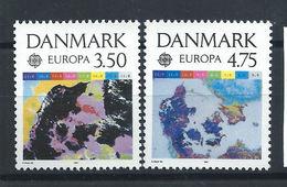 "Danemark N°1004/05** (MNH) 1991 - L'Europe Et L'Espace ""Europa"" - Danemark"