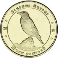 Ukraine. Coin. 1 Zlotnik. 2019. UNC. Red Book Of Ukraine. Pastor. Shpak (sturnus Roseus) - Ukraine