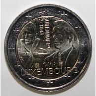 LUXEMBOURG - 2 EURO 2018 - 175 ANS DU DÉCÈS DE GUILLAUME 1ER - 1772 - 1843 - SPL - Luxembourg