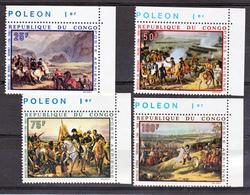Congo PA  80 83 Napoleon Ier Neuf ** TB Mnh Sin Charnela Cote 11 - Congo - Brazzaville
