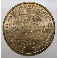 51 - REIMS - 100 ANS DE LA GRANDE SEMAINE D'AVIATION DE LA CHAMPAGNE - 1909 - MDP - 2009 - - Monnaie De Paris