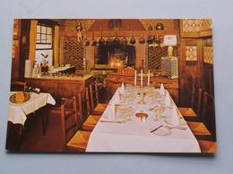 Auberge Du Pécheur ( Hotel - Restaurant ) Pontstraat DEURLE () Anno 19?? ( Zie Foto Voor Details ) ! - Sint-Martens-Latem