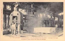 INDUSTRIE - 71 LE CREUSOT - USINES SCHNEIDER N° 21 Plus Gros Laminoir Du Monde ( Lingot 50.000 Kg ) CPA Usine Entreprise - Industry
