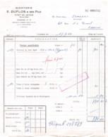 24-0468   1964 MINOTERIE E DUFLOS ET SES FILS A VITRY EN ARTOIS - M. JOMBART A CARVIN - 1950 - ...