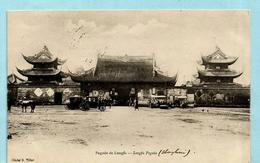 NO PAYPAL ** Postcard SHANGHAI - Longfa Pagoda - Chine