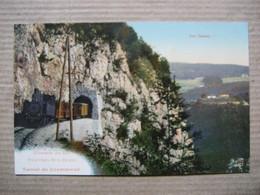 YVERDON- Ste-CROIX       -   TUNNEL DE COVATANNAZ    -     TRAIN             TTB - VD Vaud