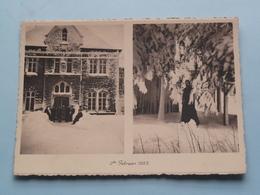 Studiehuis Voor ZENDELINGEN Redemptoristen Beauplateau Ingesneeuwd ( Thill ) Anno 19?? ( Zie Foto Voor Details ) ! - Missions