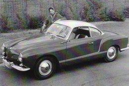 Volkswagen Karmann-Ghia Typ 14  -  1959  -   CPM - Voitures De Tourisme