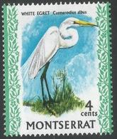 Montserrat. 1970 Birds. 4c MH. SG 245 - Montserrat