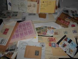 Vrac , D Environ 500 Grammes De Timbres Et Documents Tout Pays A  Decouvrir - Timbres