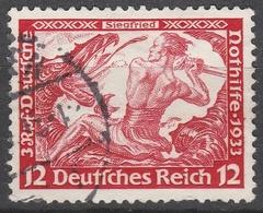 Deutsches Reich    .     Michel       .    504A     .       O        .      Gebraucht - Allemagne