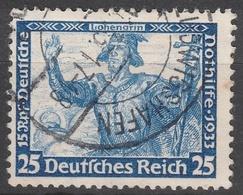 Deutsches Reich    .     Michel       .    506A    .       O        .      Gebraucht - Allemagne