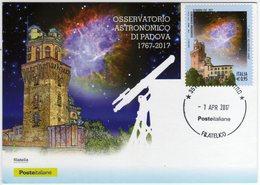 Marcofilia Padova Cartolina Con Nuovo Annullo Permanente Filatelico - Filatelia & Monete