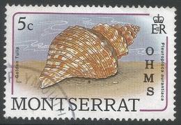 Montserrat. 1989 Official. 5c Used. SG O76 - Montserrat