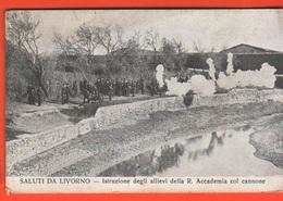 Livorno Artiglieria Regia Accademia CpA Primo '900 Scuola Del Cannone - Manovre
