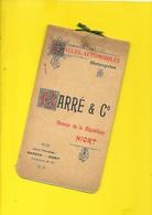"""Catalogue 1904 Cycles Motos Autos """"BARRE""""  Niort 16 Pages + Couverture Format à L'Italienne11 X 21 Cm Env.. - Ciclismo"""