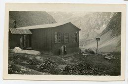 REFUGE De L'alpe VILLAR D 'arene RARE Montagne 1932 Snapshot 05 05480 Hautes Alpes - Lieux
