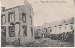 Lorcé - Maison Chevron Et Centre Du Village - Edit. E. Desaix-Aywaille 13157 - Stoumont