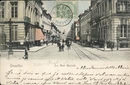 Bruxelles : La  Rue Royale Vers Ste Marie - Lanen, Boulevards