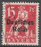 Deutsches Reich    .     Michel       .  121          .       O        .      Gebraucht - Deutschland