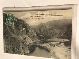 48 Chapeauroux 1914 Gorge De L Allier - Langogne