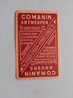 COMANIN Anvers / Antwerpen - The Little JOKER ( Zie Foto's Voor En Achter ) ! - Playing Cards (classic)