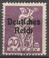 Deutsches Reich    .     Michel       .  122          .       O        .      Gebraucht - Deutschland