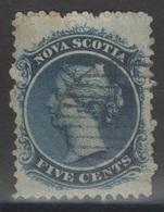 Nouvelle-Ecosse - Nova Scotia - YT 7 Oblitéré - 1860 - Nova Scotia