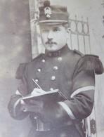 235 - CDV 19ème - Portrait D'un Militaire 67ème R.I  - Vergnol - Soissons - Photographs