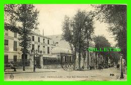 VERSAILLES (78) - RUE DES RÉSERVOIRS - ANIMÉES - CIRCULÉE EN 1908 - E-L-D - HOTEL DES RÉSERVOIRS - - Versailles