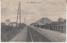 Musson - La Gare - Animé - Ed. L. Duparque, Florenville - Gares - Sans Trains