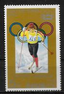COREE DU NORD   N° 1441B  * *   Jo 1976   Ski De Fond - Ski