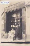 ST PORCHAIRE : Devanture De La Quincaillerie A.PIERRE - Superbe Carte Photo - Commerce - Métier - Sonstige Gemeinden