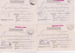 RARE / 49 LETTRES STALAG II D STARGARD POMMERANIE / CORRESPONDANCE COMPLETE DE 1941 A 1943 - Marcofilie (Brieven)