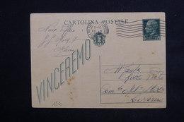 ITALIE - Entier Postal De Milano Pour Livorno En 1943 - L 22890 - 1900-44 Vittorio Emanuele III