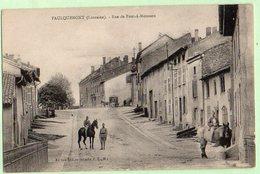 FAULQUEMONT , Rue De Pont à Mousson - Faulquemont