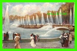 VERSAILLES (78) - CHATEAU, PARC DE VERSAILLES, BASSIN DE NEPTUNE - RAPHAEL TUCK & FILS LTD, OILETTE - - Versailles (Château)