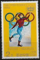 COREE DU NORD   N° 1441A  * *   Jo 1976   Patinage - Patinage Artistique