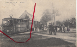 Ouffet - Arrêt Du Tram - Très Animé - R. Schüttringer, Photo, Liège - Tramways