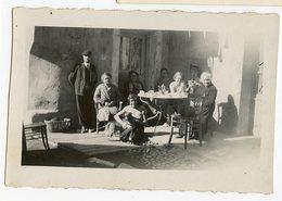 Homme Man Femme Woman RARE VILLAR D'ARENE Id Dos 1933 Habitant Table Chien Pet Dog 05 05 480 Hautes Alpes - Lieux