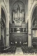 Themes Div-ref Z918- Eglise De Melun - Instruments De Musique - Orgue - Les Orgues - Carte Bon Etat   - - Eglises Et Cathédrales