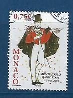 "Monaco YT 2409 "" Festival De Prestidigitation "" 2003 Oblitéré - Monaco"