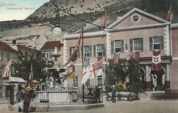 Cartolina Non Viaggiata   -  Not Sent - Gibilterra, Commercial Square - Gibilterra