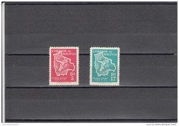 Bolivia Nº 353 Al 354 - Bolivia