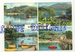 Royaume-Uni. Scotland. Ecosse. Loch Lomond. Carte Mosaïque (multivues). Photos: E. Ludwig. John Hinde Studions - Ecosse
