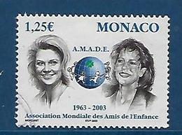 """Monaco YT 2379 """" AMADE """" 2002 Oblitéré - Monaco"""