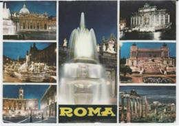 Postcard - Roma - Seven Views - Posted  12th June 1968 Very Good - Postcards
