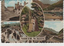 Postcard - North Wales Five Views - Posted  20th July 1962 Very Good - Postcards