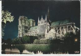 Postcard - Churches - Paris, Notre-Dame, Illuminee, Card No..592 - Unused Very Good - Postcards